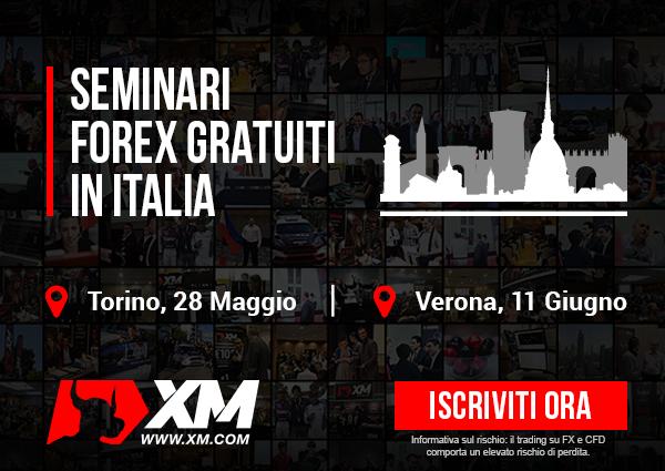 Seminario trading gratis: Torino e Verona