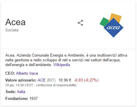 ACEA: comprare dopo la vittoria M5S a Roma?