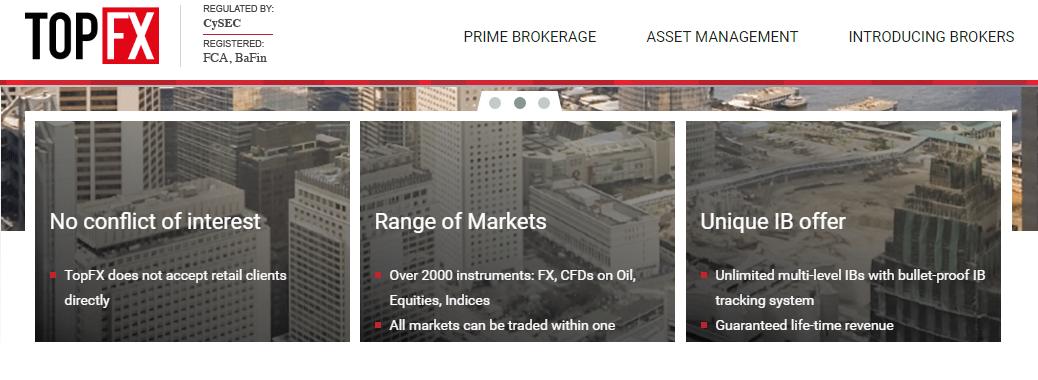 TopFX liquidity provider forex di alto livello